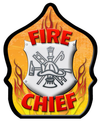 Fire Chief Shield Hat