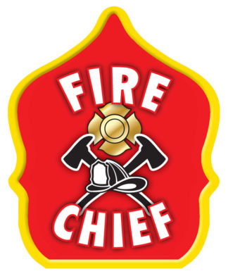 Fire Chief Red Hat