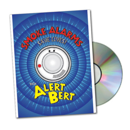 "Alert Bert's ""Smoke Alarms Save Lives!"" DVD"