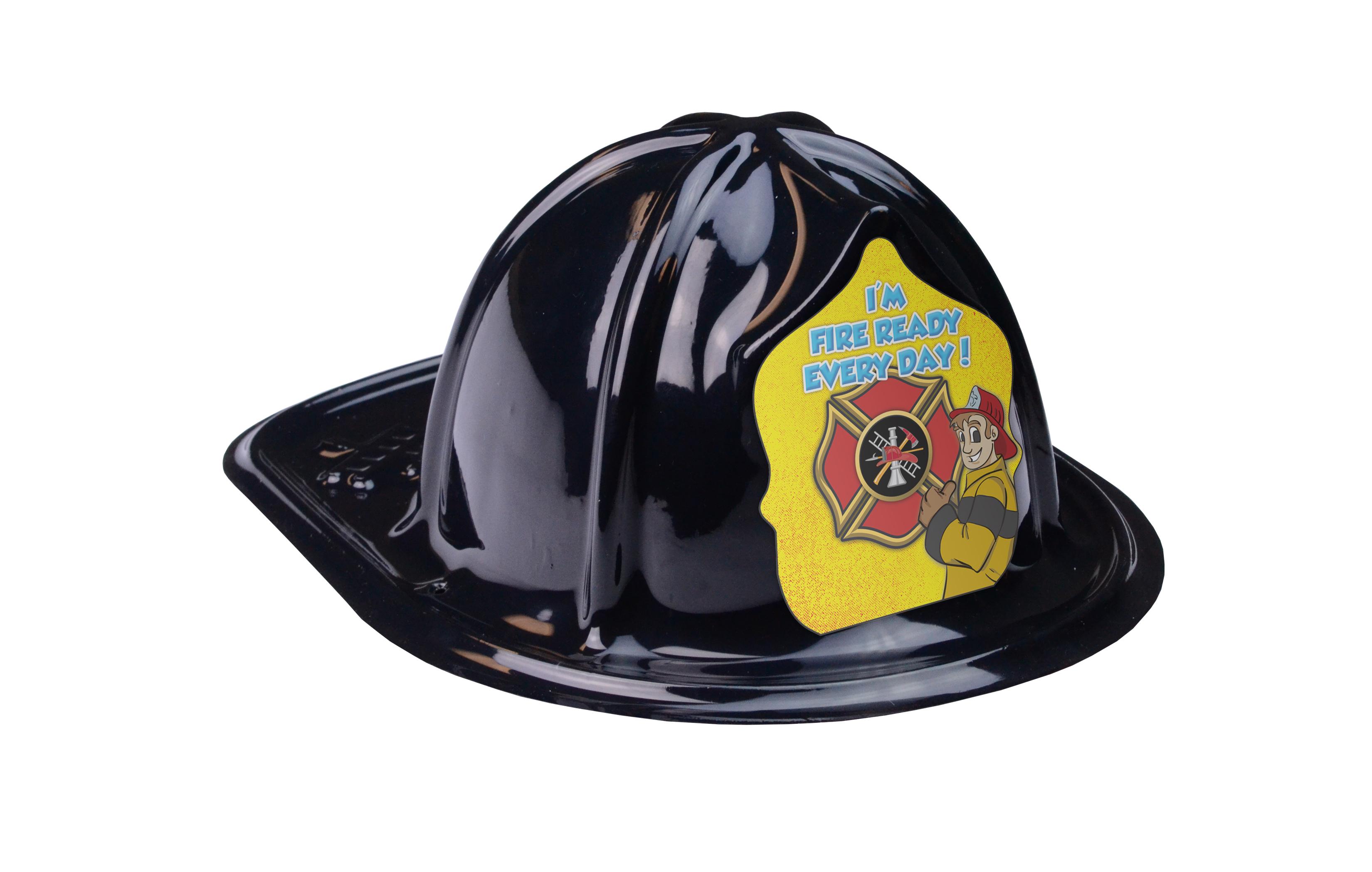 Black Fire Hat