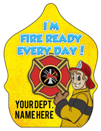 """Custom """"Ace- Fire Ready Every Day"""" Fire Hat"""
