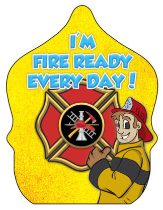 Stock Ace- Fire Ready Every Day Fire Hat