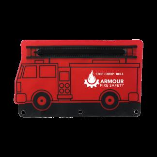Custom Fire Engine Pouch