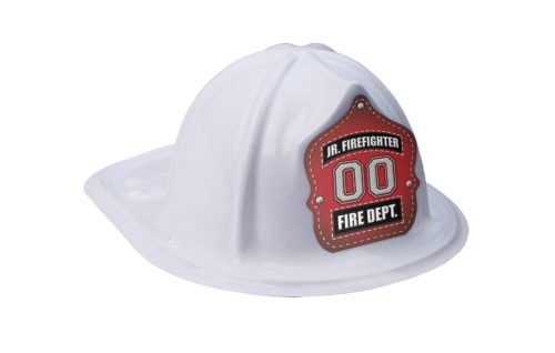 White Fire Hat