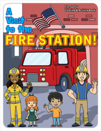 "Stretch the Ladder Truck's ""Firefighters Are Our Friends!"" Activity Book"