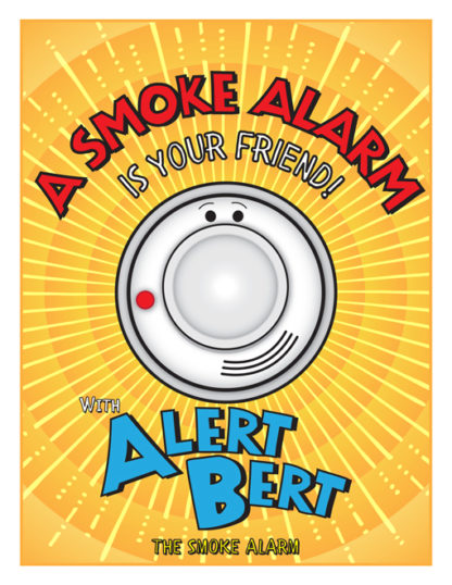 Beeping Ben: Smoke Alarms are Your Friends Activity Book