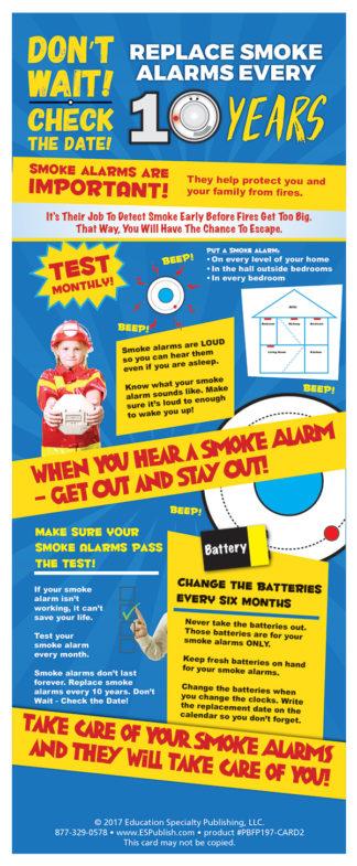 Alert Bert's Don't Wait - Check the Date! Presentation Card