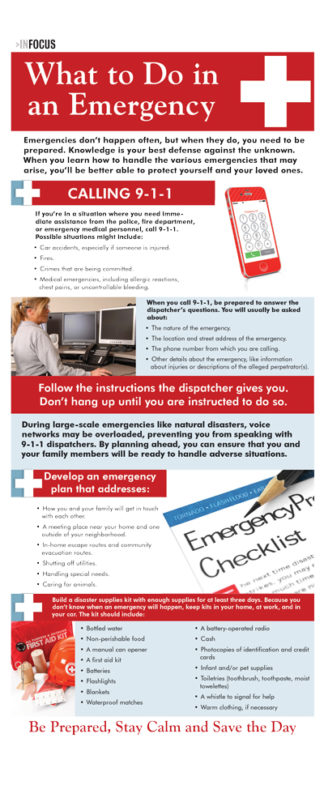 InFocus: What to do in an Emergency
