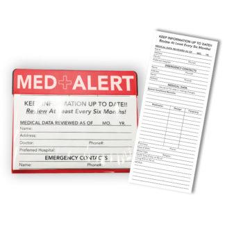 Stock Med + Alert Magnet