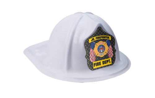 White Fire Hat