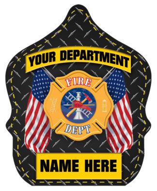 """Custom """"Jr. Firefighter - Fire Department"""" Fire Hat"""
