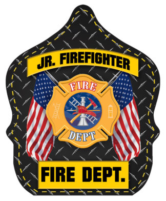 "Stock ""Jr. Firefighter - Fire Department"" Fire Hat"