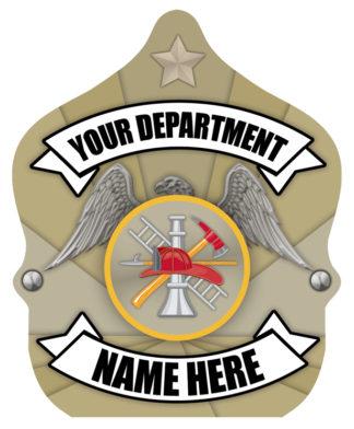 """Custom """"Junior Firefighter - Fire Dept."""" Fire Hat"""