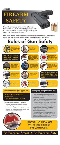 "InFocus: ""Firearm Safety"" Presentation Card"