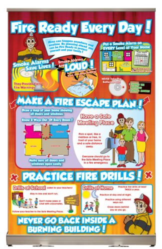 "Ace's ""Fire Ready Every Day!"" Tabletop Display"