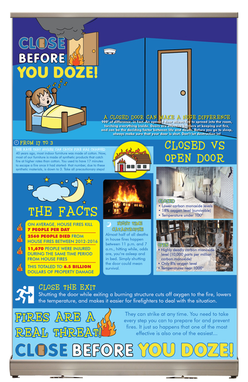 """""""Close Before You Doze"""" Tabletop Display"""