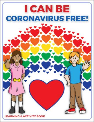 """I Can Be Coronavirus Free!"" Learning & Activity Book"