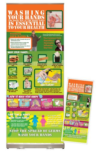 Washing Your Hands Presentation Display Package