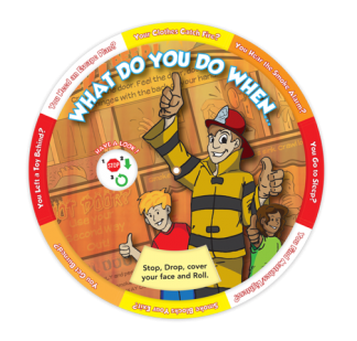 """What Do You Do When..."" Information Wheel"