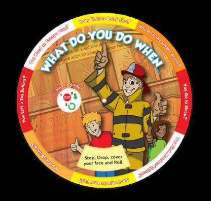 """What Do You Do When..."" Information Wheel"