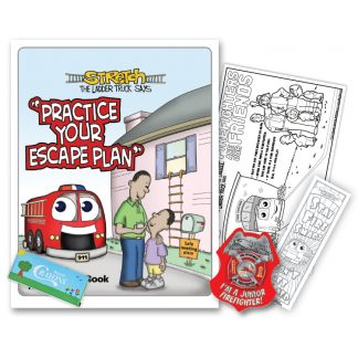 "Stretch's ""Practice Your Escape Plan"" KidPak"