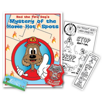 """Red's """"Mystery Of The Home Hot Spots"""" KidPak"""