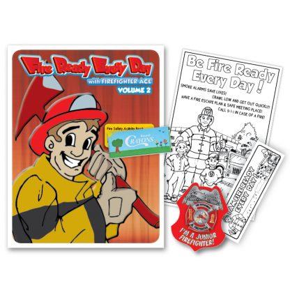 "Ace's ""Fire Ready Every Day"" Volume 2 KidPak | Pre-K - K"
