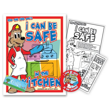 """Red's """"I Can Be Safe in the Kitchen"""" KidPak"""