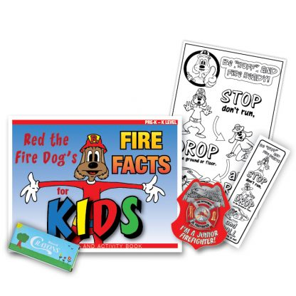 """Red's """"Fire Facts for Kids"""" KidPak"""