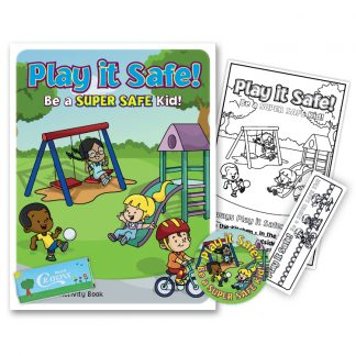 """Play it Safe: Be A Super Safe Kid!"" KidPak"