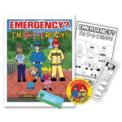 """Emergency? I'm 9-1-1 Ready!"" KidPak"