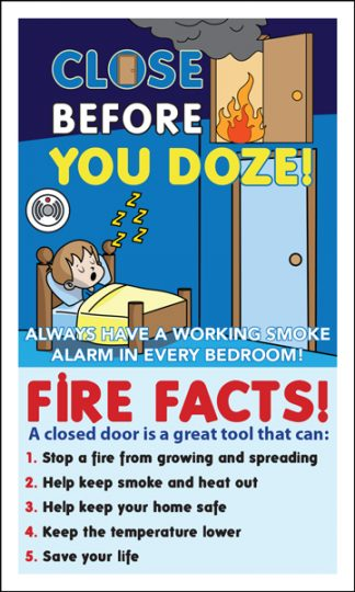 """Close Before You Doze"" Magnet"