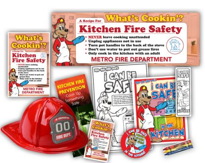 """Red's """"What's Cookin'? A Recipe For Kitchen Fire Safety"""" Super StationPak"""