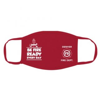 """Ace's """"Be Fire Ready Every Day!"""" Custom Face Mask"""