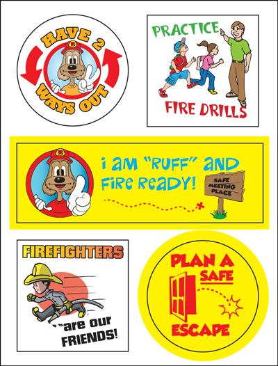 Red's Sticker Sheet