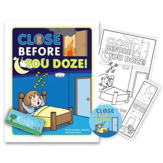 """Close Before You Doze"" KidPak"