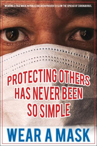 COVID-19: Wear Face Masks Poster (Adult)