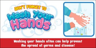 COVID-19: Hand Washing Banner (Children)