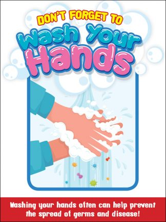 COVID-19: Hand Washing Poster (Children)