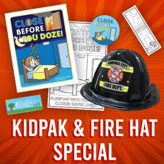 KidPak & Fire Hat Special