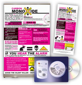 Carbon Monoxide Tabletop Display Package