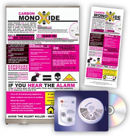 Carbon Monoxide Tabletop Display Package