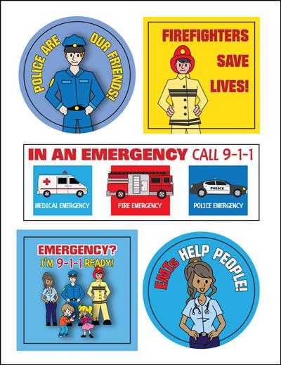 EMS Sticker Sheet