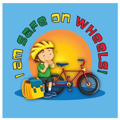 wheel safety sticker for kids