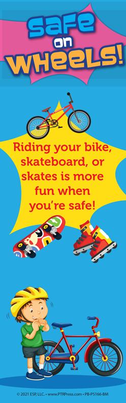 wheel safety bookmark