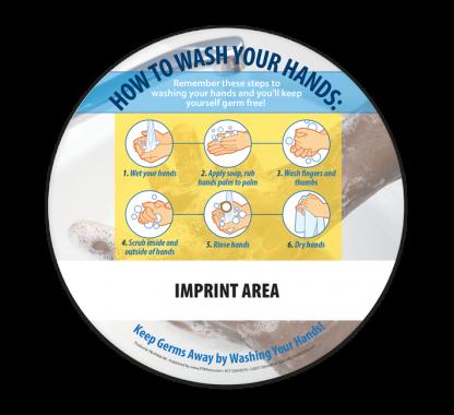 Clean Hands, Clean Health Information Wheel (Back)
