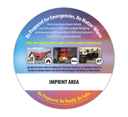 What to Do in an Emergency Information Wheel (Back)