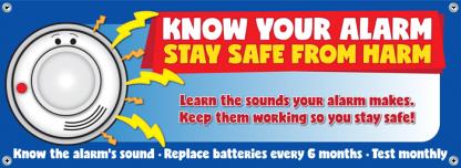 fire prevention week banner