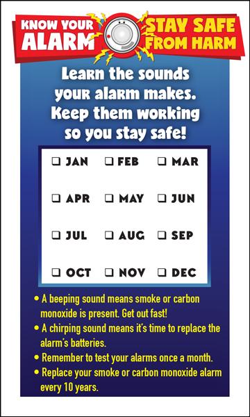 fire prevention week magnet
