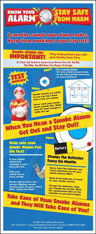 fire prevention week card